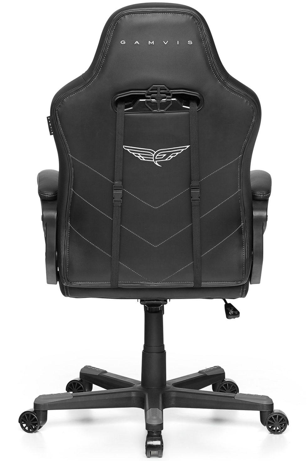 Materiałowy Fotel gamingowy Gamvis Hyper Szary 1
