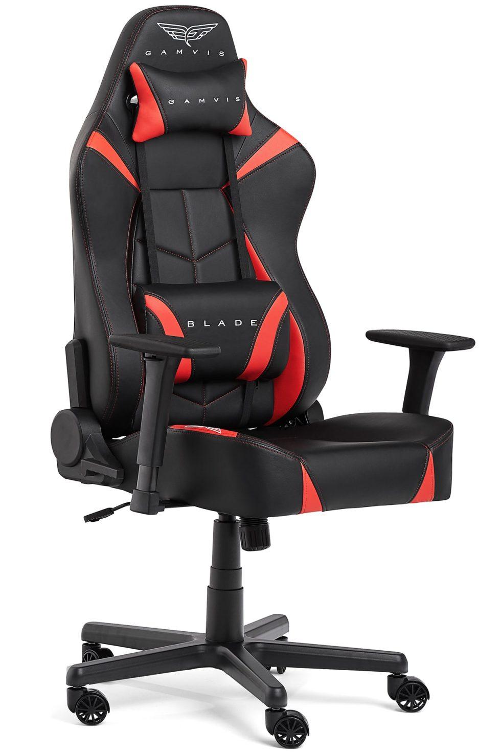 Gamvis BLADE XL Gamer Szék – Fekete/Piros