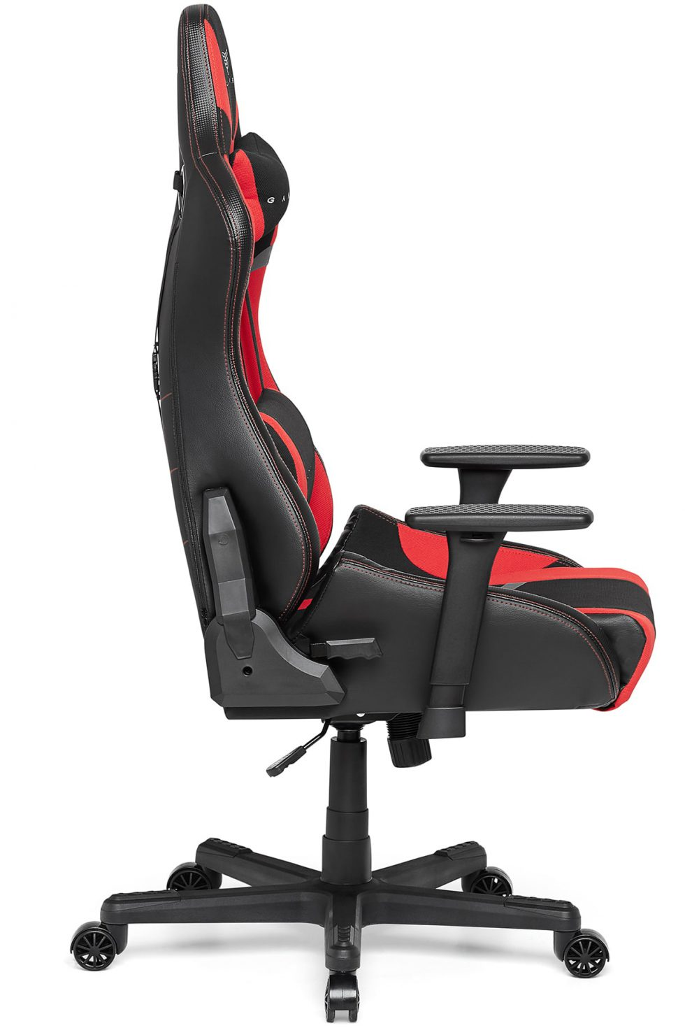 Materiałowy Fotel Gamingowy Gamvis FURIOSO Czerwony