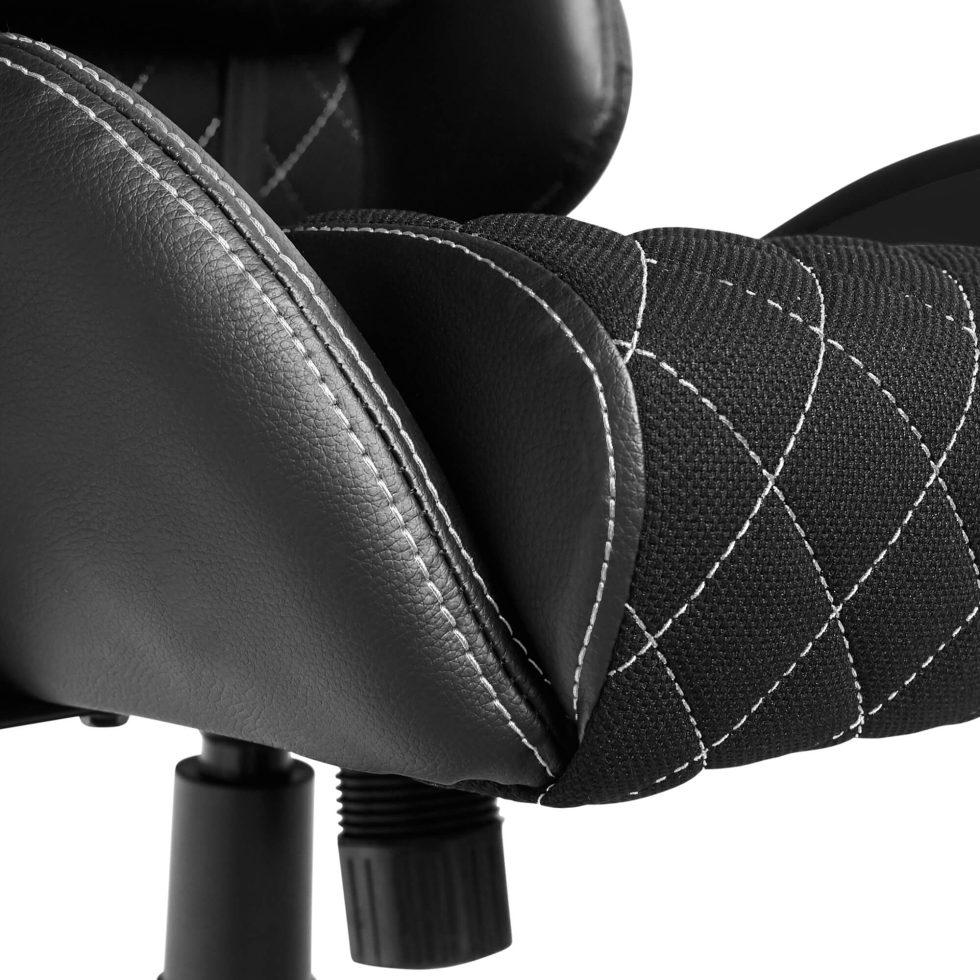 (PRE-ORDER) Materiałowy Fotel Gamingowy Gamvis PHANTOM Czarny