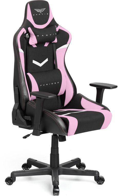 Gamvis FURIOSO Gamer Szék Textil – Női Rózsaszín